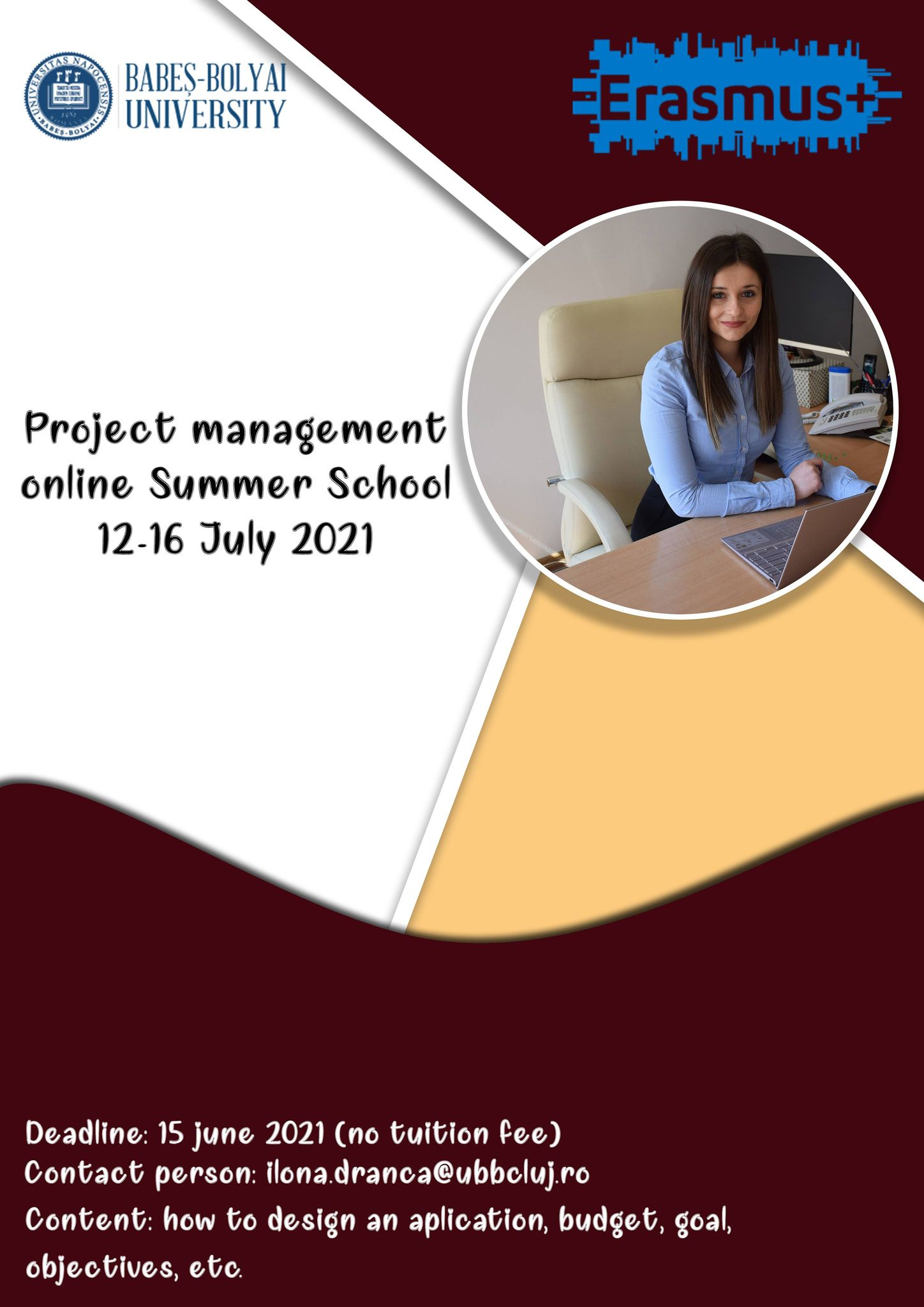 Project management online Summer School 12-16 July 2021